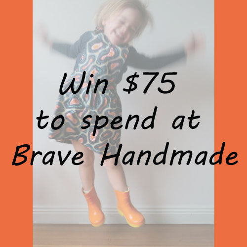 Win $75 to spend at Brave Handmade!