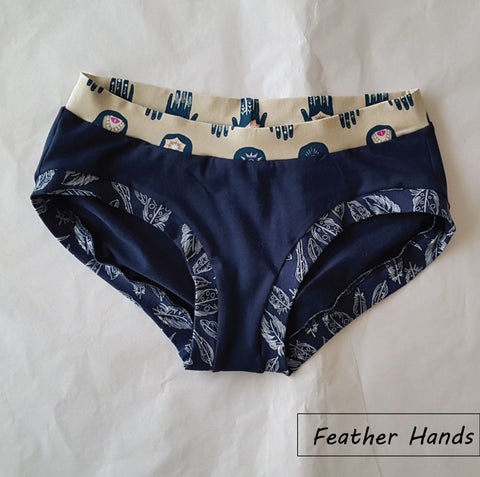 Ladies Hipster Briefs Size L (14-16)