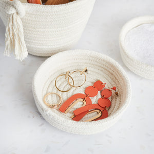 Cotton Trinket Tray