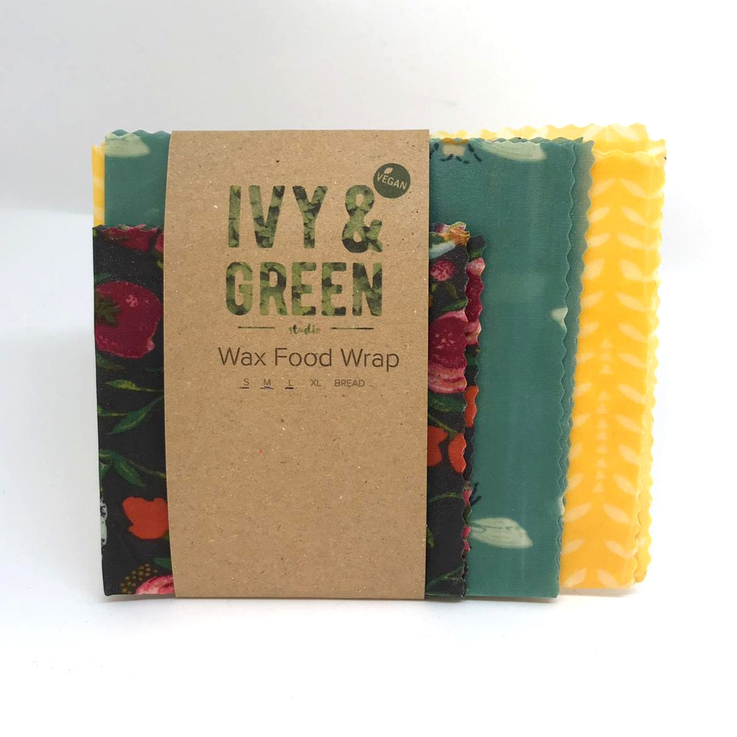 Vegan Wax Food Wraps - GARDEN