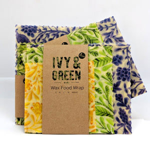 Vegan Wax Food Wraps - BIRDS
