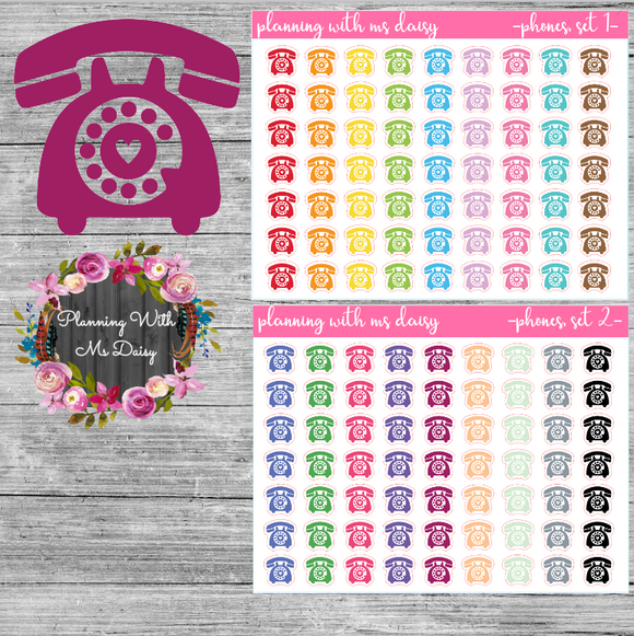Phone Planner Stickers