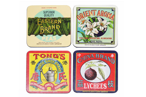 Vintage Brands Coasters (set of 4)