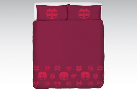 Double Happiness bedlinen set