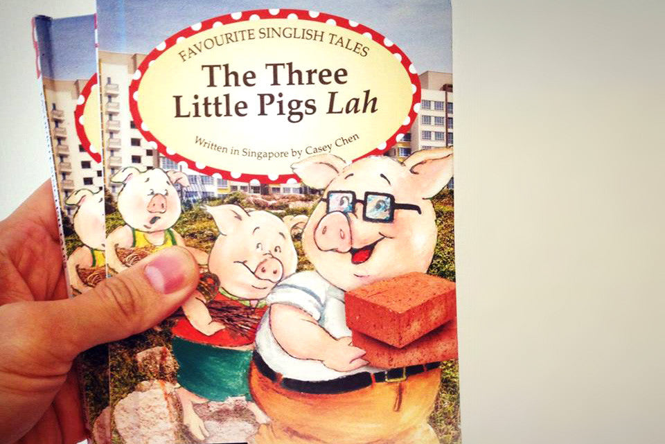 a review of the green jelly version of the story three little pigs Green jellÿ's version of anarchy in the uk is a parody cover of the original three little pigs anarchy in the uk.