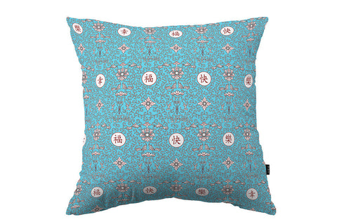 Prosperity Cushion Cover (light blue)