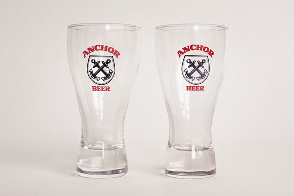 Anchor Beer Glasses