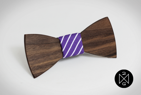 Dale Wooden Bow Tie by The Two Guys Bow Ties