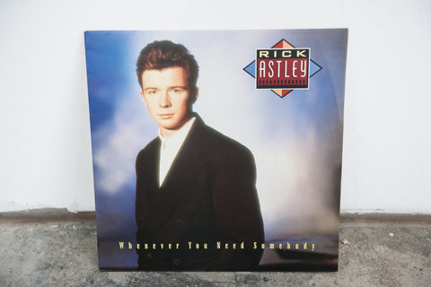 LaserDisc: Rick Astley: Whenever You Need Somebody