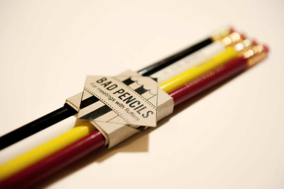 Let your pencils do the talking.