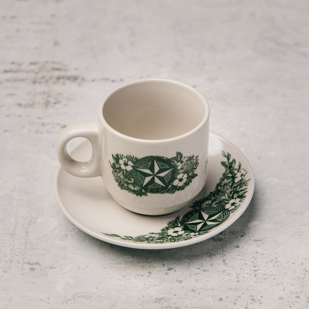 Kopitiam Cup and Saucer