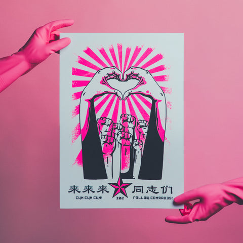 GOODSTUPH X PINK DOT 2019 RISOGRAPH POSTER
