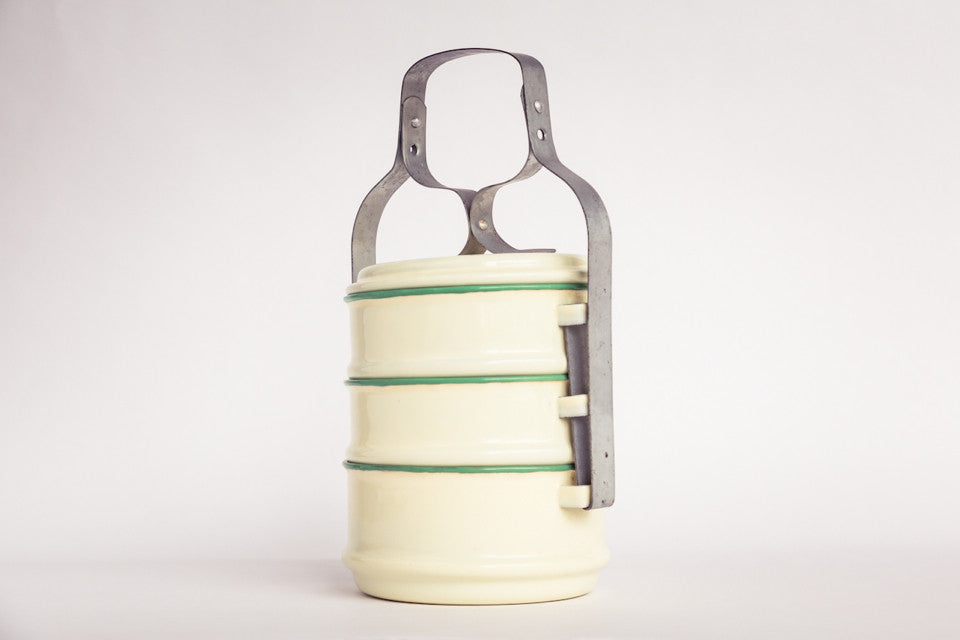 Vintage tiffin carrier