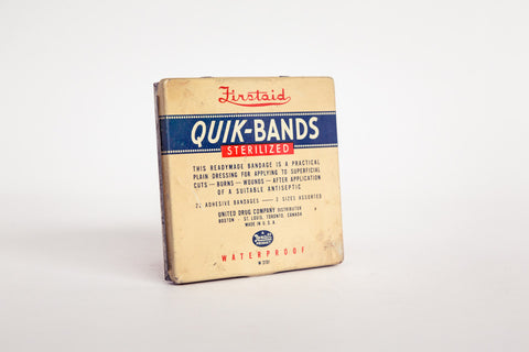 Quik-Bands Tin.