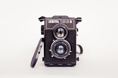 The coupled lenses are Lubitel 166B's special feature.
