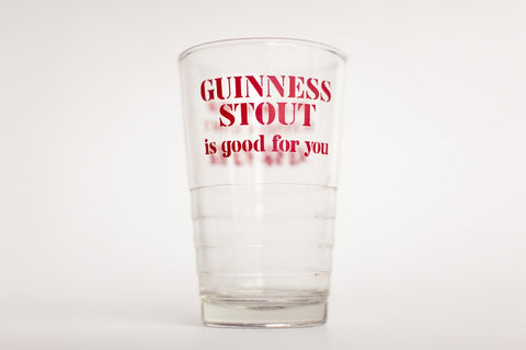 GUINNESS Stout Vintage Glass