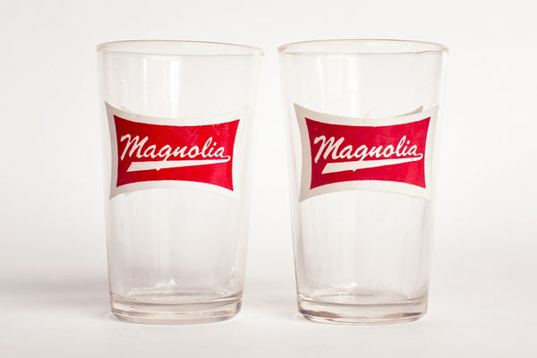 Magnolia Vintage Glass