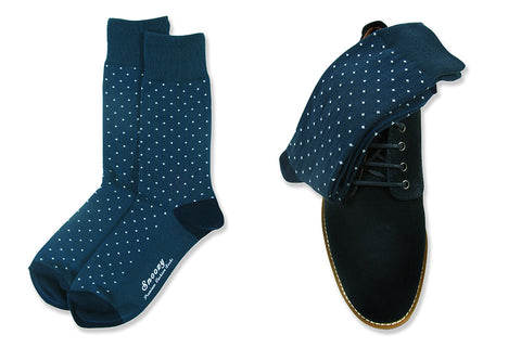Pin Dot Navy