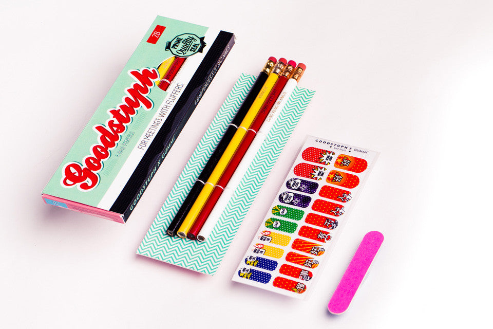 Bad Pencils x Bad Nails Bundle