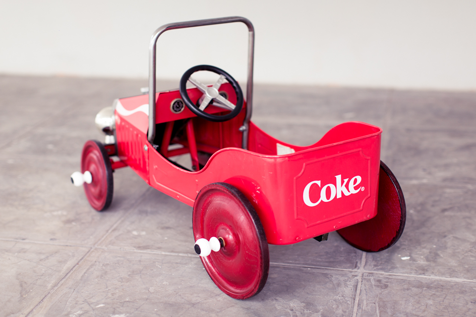 Coca-Cola Pedal Toy Car