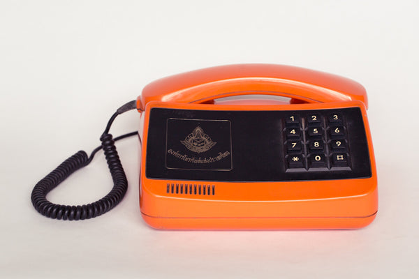 1980s retro telephone from Thailand.