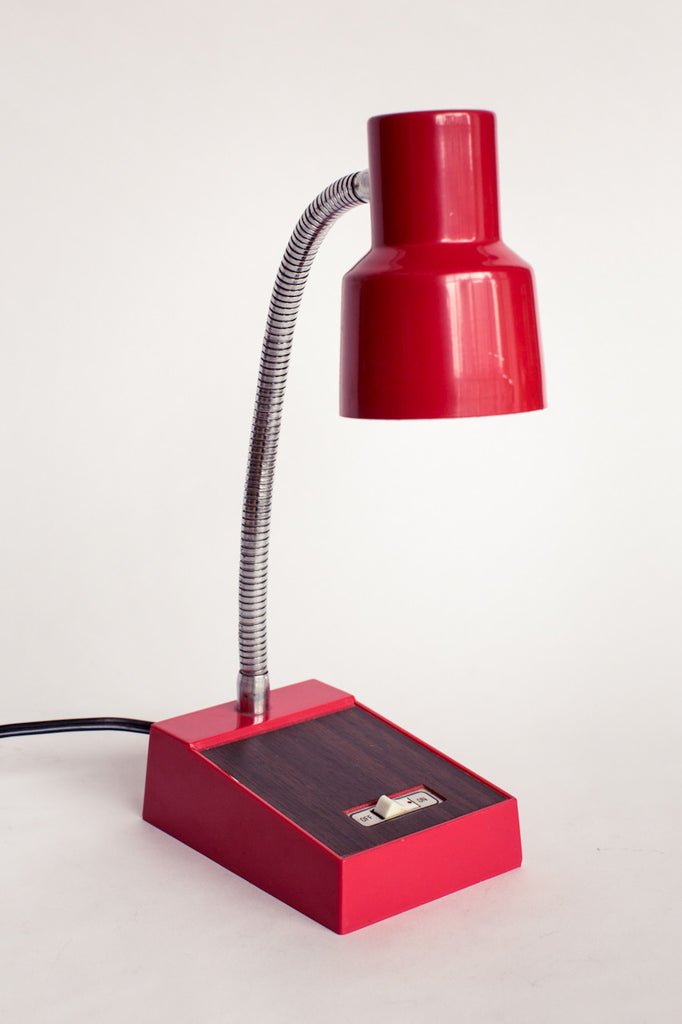 Goose-neck desk lamps can't go wrong.
