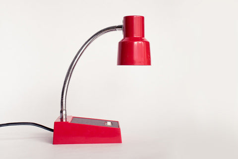 Red Desk Lamp