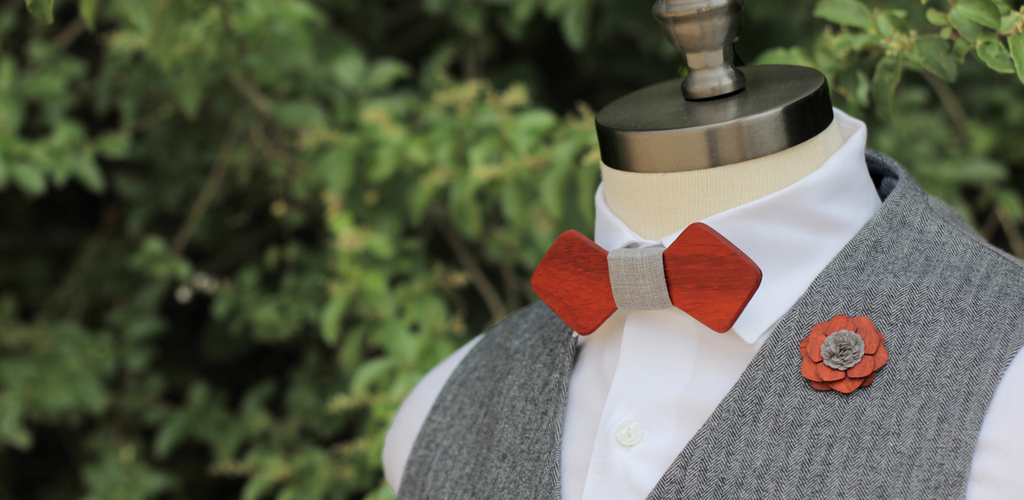 The Gene Bow Tie & Rochester Lapel Pin