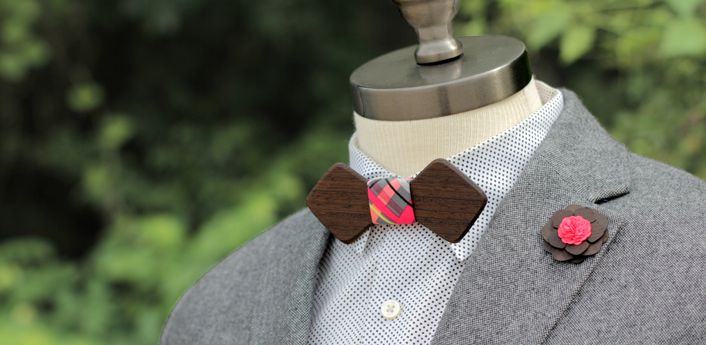 The Stanley Bow Tie & Milwaukee Lapel Pin