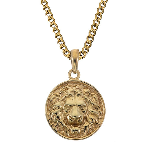 LION PENDANT (GOLD)
