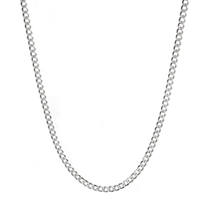 CUBAN CHAIN (STERLING SILVER)