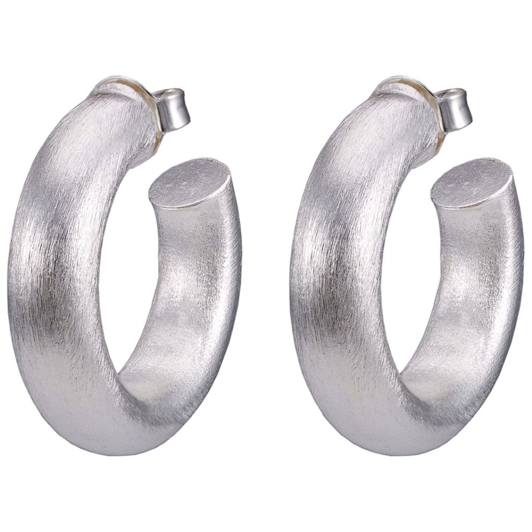 "Smaller Chantal Hoops 1 1/4""-BB"