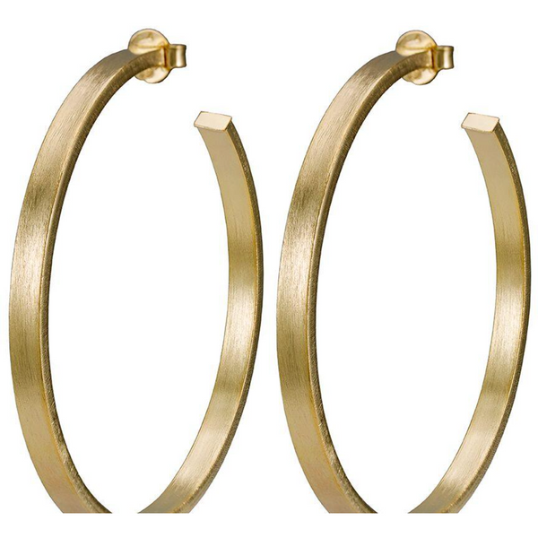 Lunaria Hoops-1 - Tres Chic Boutique