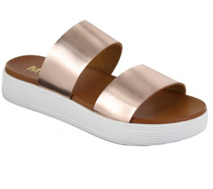 Saige Sandals-Rose Gold