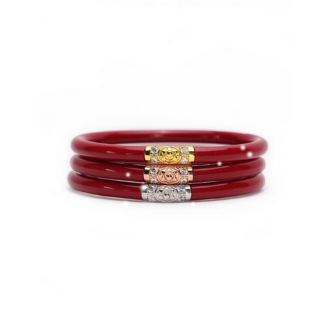 Red 3 Kings BudhaGirL All Weather Bangles - Tres Chic Boutique