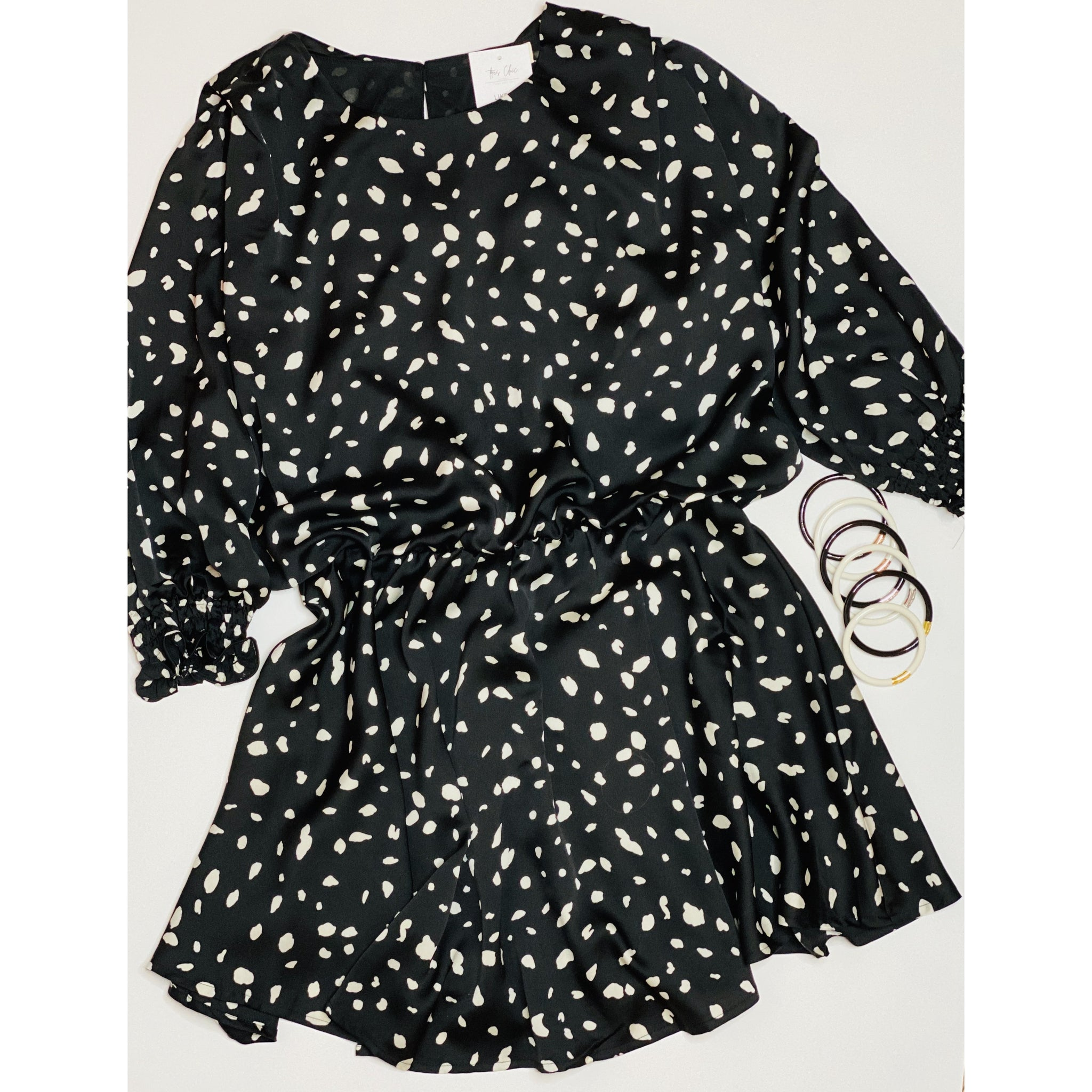 Chris Dot Dress - Tres Chic Boutique