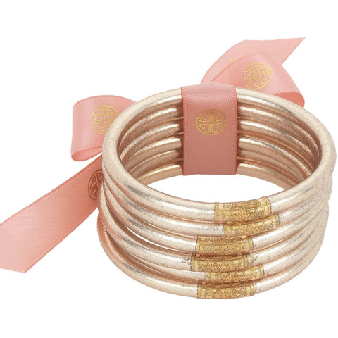 Budhagirl Bangles-Champagne Set/6 - Medium - Tres Chic Boutique