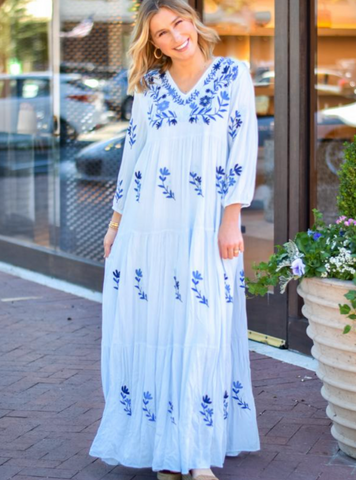 The Madeline Maxi Dress