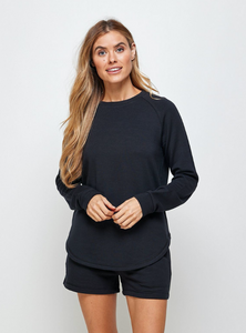 Unwind Sweater-Black