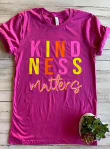 Kindness Matters Tee (S-2XL)