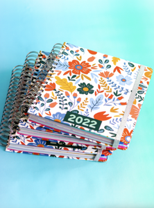 You Grow Girl (Floral Print) Planner 2021-2022
