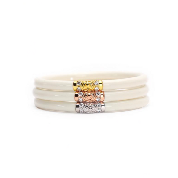 3 Kings All Weather Bangles-Ivory - Tres Chic Boutique