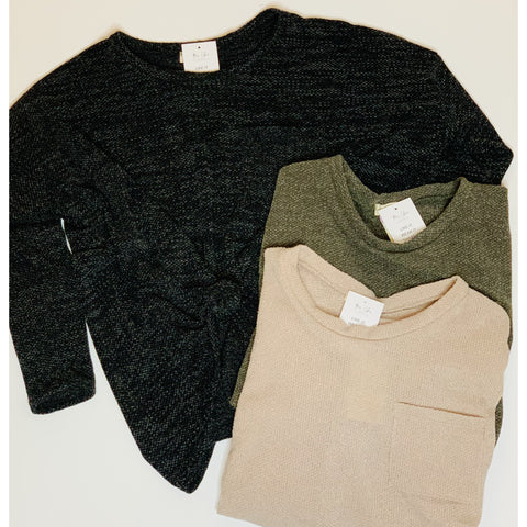 Kara Lightweight Sweater(Available in 3 Colors)