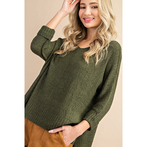 Stacie Lightweight Sweater(3 Colors Available) - Tres Chic Boutique