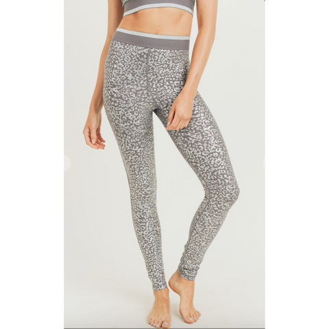 Silver Leo Leggings