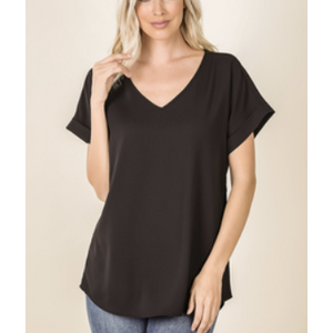 Mya Dobby Top(S-XL) - Tres Chic Boutique
