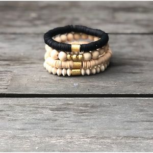 Neutral Everywhere Stack - Tres Chic Boutique