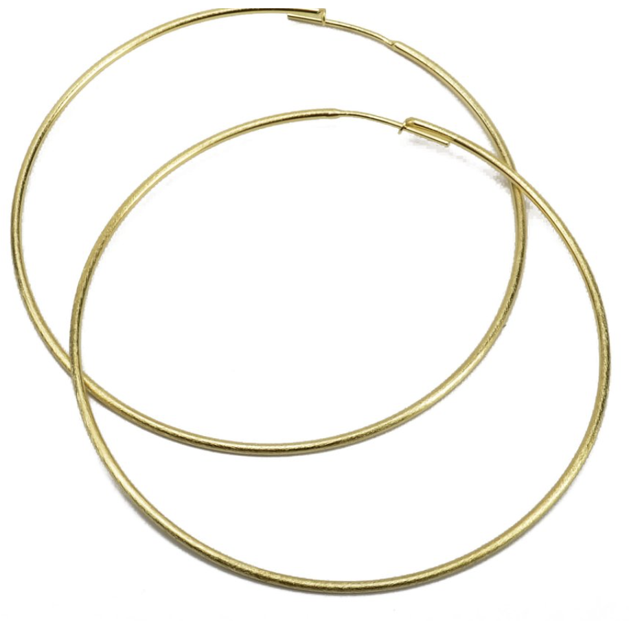 Lisa Hoops-I - Tres Chic Boutique