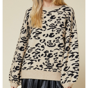 Kai Leopard Sweater