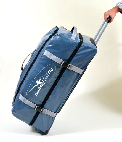 Double Haul Fly Wheeled Duffel